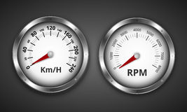 Gauges Stock Photography