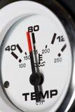 gaugetemperatur arkivfoton