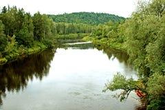 gauja kayaks река 2 Стоковые Изображения