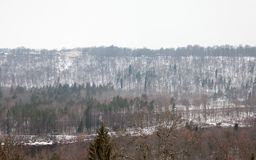 Gauja River Valley in Sigulda, Lettonia Immagine Stock