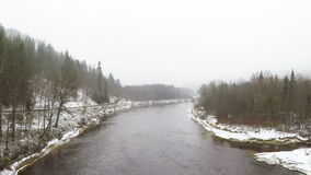 Gauja River stock video