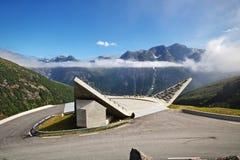 Gaularfjellet widoku punkt obrazy royalty free