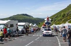 Gaulois Caravan - Tour de France 2016 Stock Photos