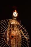 Gaultier utställning i de Barn Museum, S Arkivbild