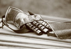Gauntlet Royalty Free Stock Images
