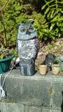 Gaurd owl Royalty Free Stock Image