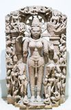 Gauri Stone Sculpture India imagem de stock