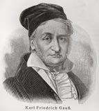 Gauss de Carl Imagem de Stock