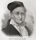 Gauss del Carl Immagine Stock