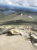 Gaustadtoppen Rjukan Norge Arkivfoton