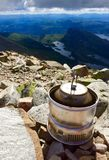 Summer Coffee time Gaustadtoppen Rjukan Norway Stock Image