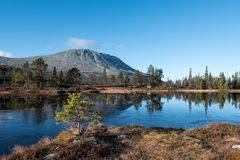 Gaustatoppen mountain Stock Images