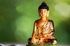 Gautam Βούδας που επικεντρώνεται στην περισυλλογή του Στοκ Φωτογραφίες