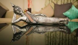 Gautam Buddha, Buddha, statua, medytacja, duchowość, buddyjska, zdjęcie stock