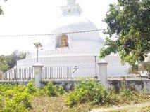 Gautam Buddha-Tempel Vaishali Bihar Indien stockfotografie