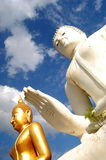 Buddha WatPairogwour Thailand Royaltyfri Fotografi
