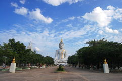 Buddha WatPairogwour Thailand Fotografering för Bildbyråer