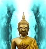 Gautama Buddha na meditação imagens de stock royalty free