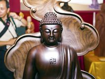Gautama buddha sculpture Royalty Free Stock Image