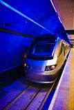 Gautrain - curso do trem de alta velocidade em África Fotos de Stock Royalty Free
