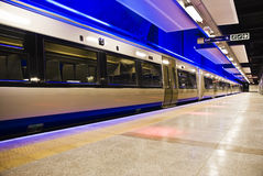 Gautrain - High Speed Commuter Train Stock Photo