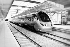 Gautrain - Malboro Station Royalty Free Stock Images