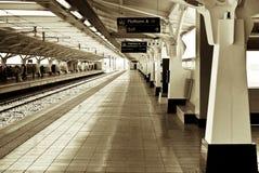 Gautrain - Platform A, Malboro Station Royalty Free Stock Image