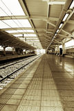 Gautrain - Platform A, Malboro Station Royalty Free Stock Images