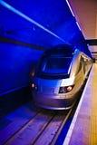 Gautrain - recorrido del tren de alta velocidad en África Fotos de archivo libres de regalías