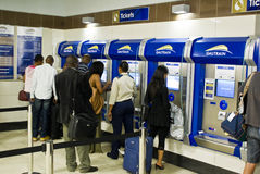 Gautrain - Sandton Station - Ticketing Royalty Free Stock Image