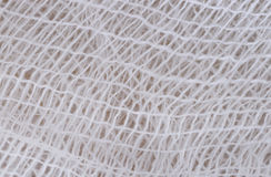Gauze. Close-up a gauze(bandage) texture Stock Image