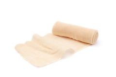 Gauze bandage. Isolated on white Royalty Free Stock Photography