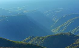 Gauze in mountains Stock Photography