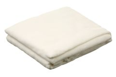 Gauze roll. Isolated on a white background Stock Photography
