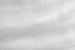 Gauze texture of white color Stock Image
