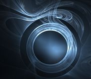 Gauzy Circle Abstract Stock Photos
