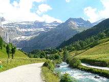 Gavarnie ( France ) Stock Photo