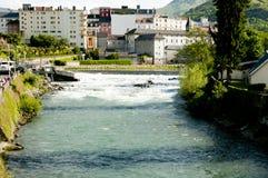 Gave De Pau River - Lourdes - France Royalty Free Stock Image