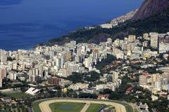 Gavea na cidade da maravilha de Rio de Janeiro, Brasil Imagens de Stock