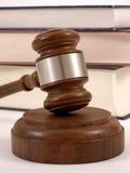 gavel βιβλίων νομικό Στοκ Εικόνες