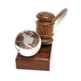 gavel σφαίρα στοκ φωτογραφία με δικαίωμα ελεύθερης χρήσης