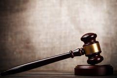 gavel φωτογραφία δικαστών ρε&alph Στοκ φωτογραφία με δικαίωμα ελεύθερης χρήσης