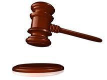 gavel деревянный Стоковая Фотография