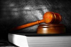 gavel законный Стоковая Фотография RF