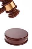 Gavel - молоток аукциона Стоковая Фотография RF