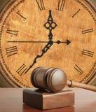 gavel часов старый Стоковые Фото