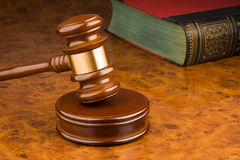 Gavel Image stock