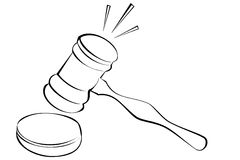 Gavel Stock Image