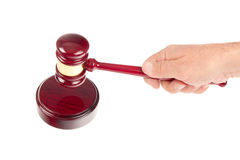 Gavel action Stock Photos