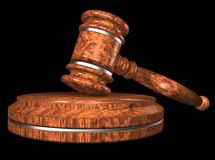 Gavel. Royalty Free Stock Images